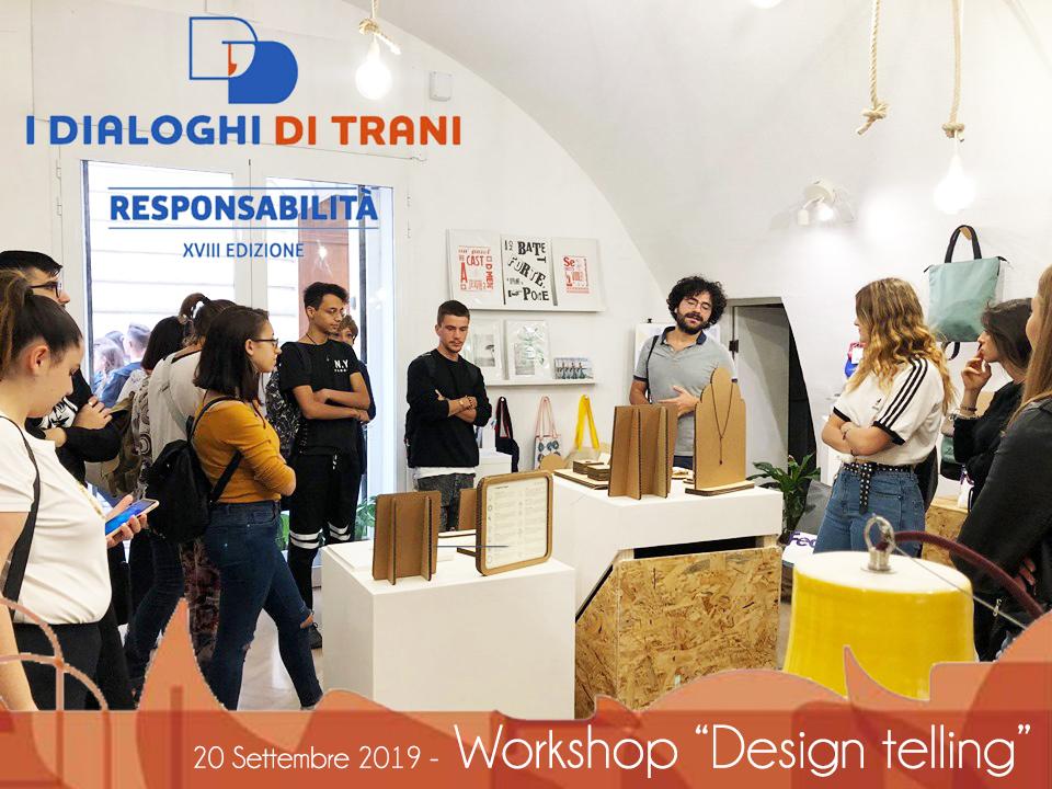 """Workshop """"Design telling"""""""